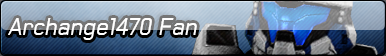 Archangel470 Fan Button by Archangel470