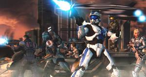 Alliance At War [XPS/XNALara] by Archangel470