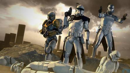Lost Commanders [SFM/4K] by Archangel470