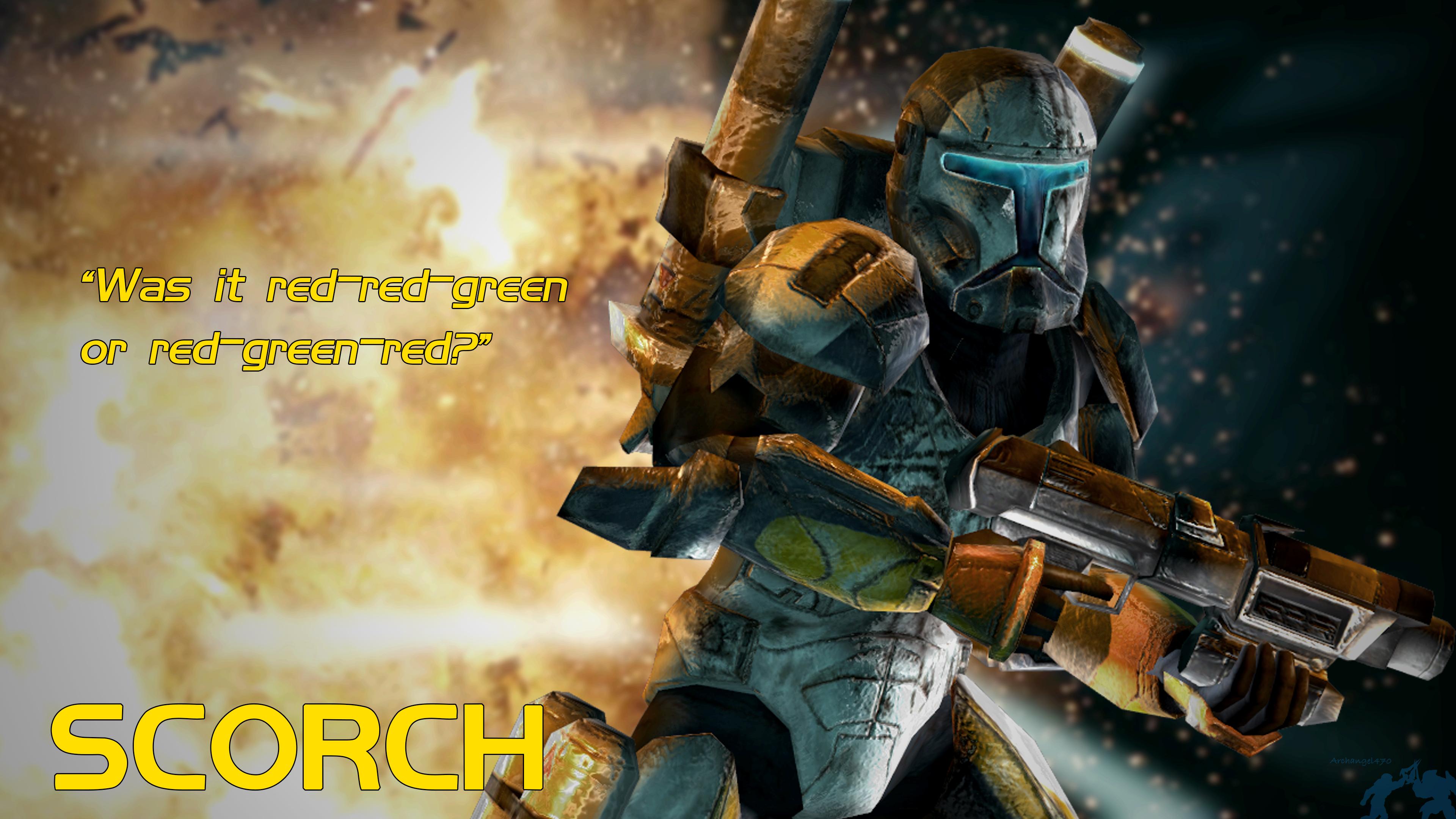 Republic Commando Scorch 4k Wallpaper By Archangel470 On Deviantart