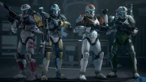 Delta Squad Lineup [SFM/4K] by Archangel470