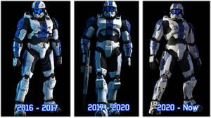OC Armor Evolution (2016 - 2020)
