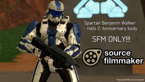 Spartan Benjamin Walker [H2A] - SFM Download