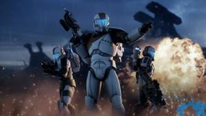 Imperial Commando [Blender/4K]