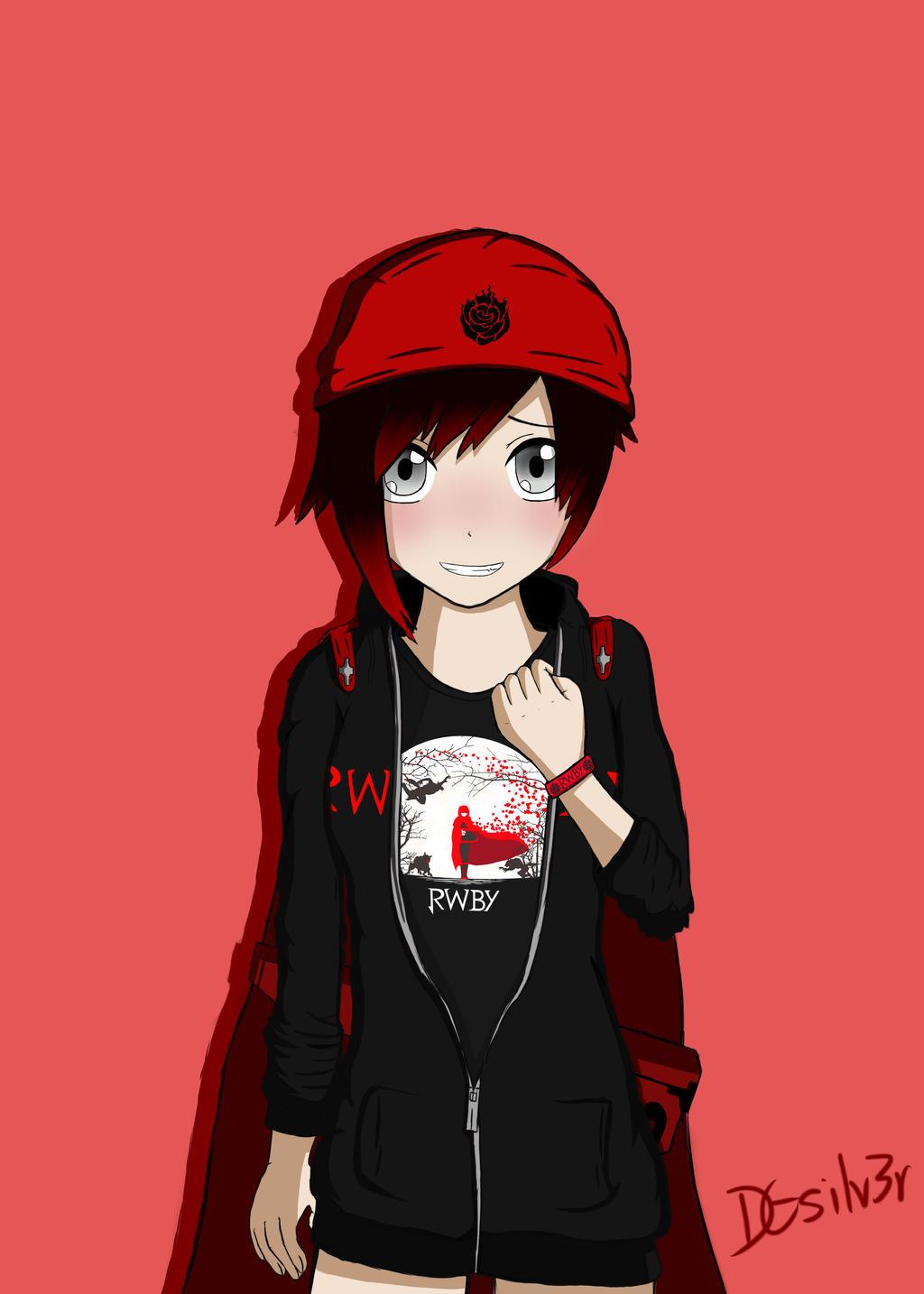 Ruby rose in rwby merchandise by dgsilv3r on deviantart - Rwby deviantart ...
