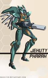 Jehuty Pharah by DGsilv3r
