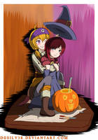 RWBY Patch Kids Happy Halloween by DGsilv3r