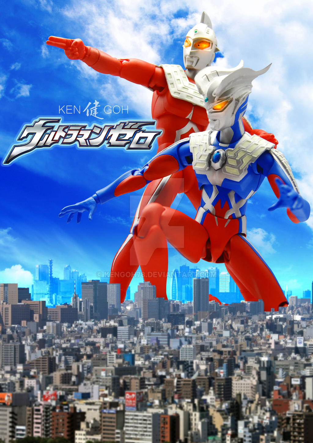 Ultra-Act : Ultraman Zero and Ultra Seven by kengoh78 on ...