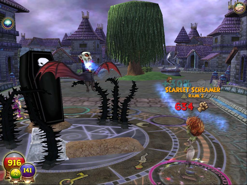 death wizard101 spells - photo #28