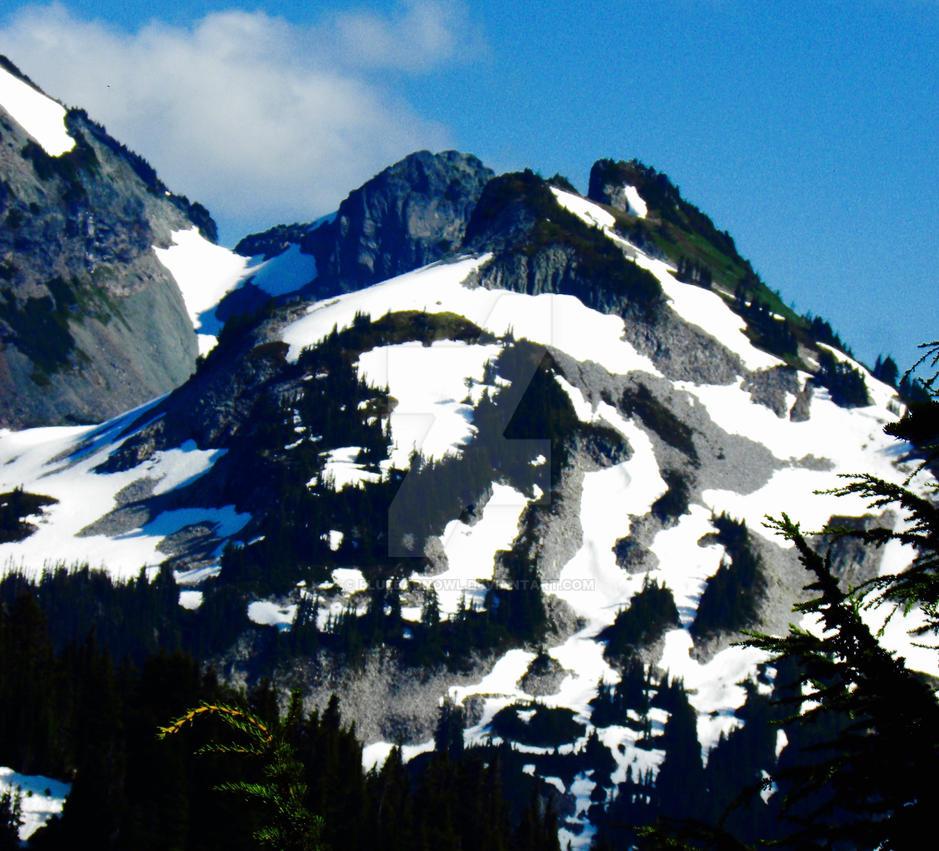 Swirling Mountain by Bluebarnowl