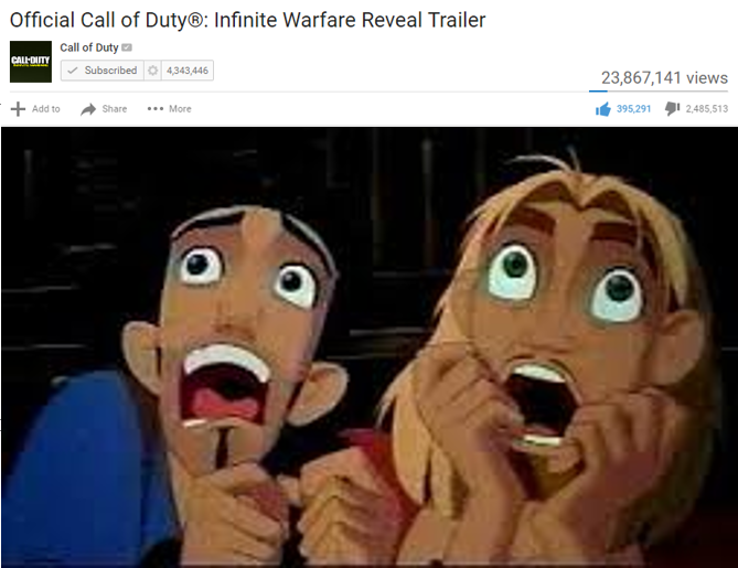 Miguel and Tulio reacts to COD Infinite Warfare by MST3k1999