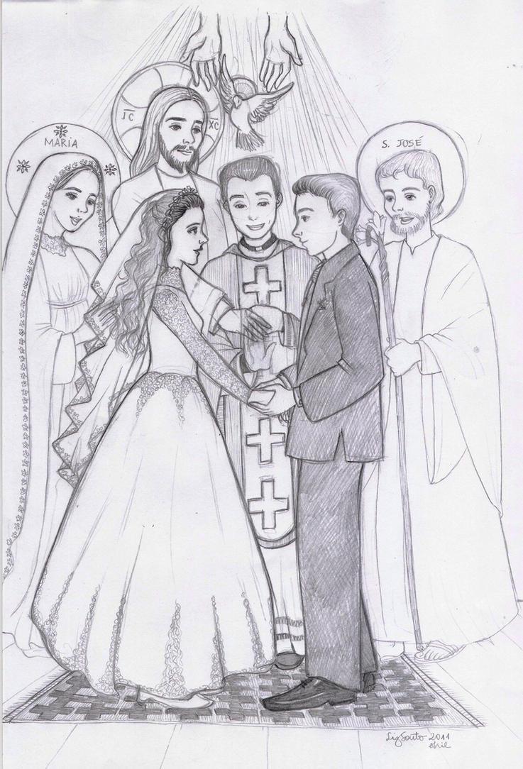 Holy Matrimony By Artelizdesouza On Deviantart