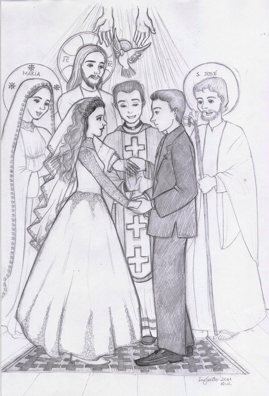 Holy Matrimony by artelizdesouza