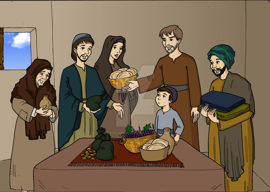 Early Christians Coloured by artelizdesouza