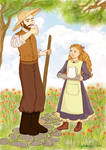 Saint Therese and her father