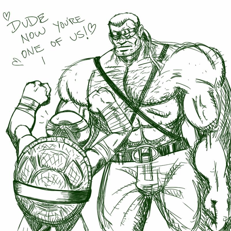 tmn hulk by Jamonred