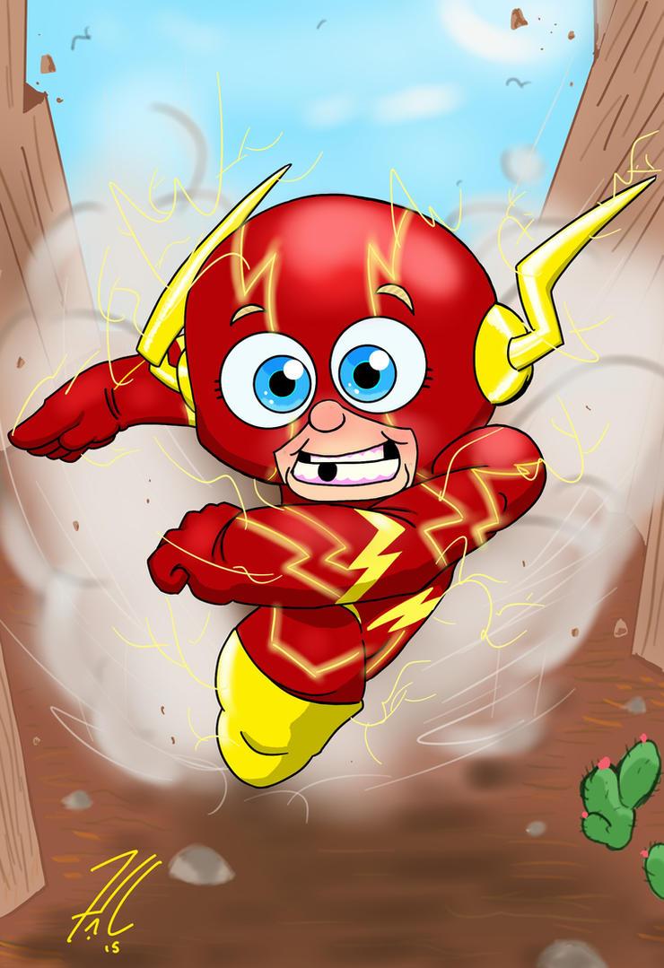 baby flash by Jamonred