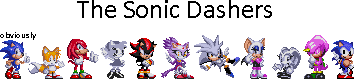 The Sonic Dashers by EXEcutor-The-Bat
