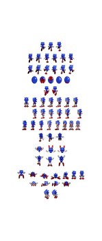 Sonic 2 Styled Sonic CD Special Stage Sonic
