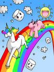 Rainbow Unicorn and Hippo