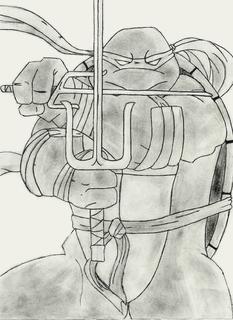 Raphael- TMNT by Pi90katana