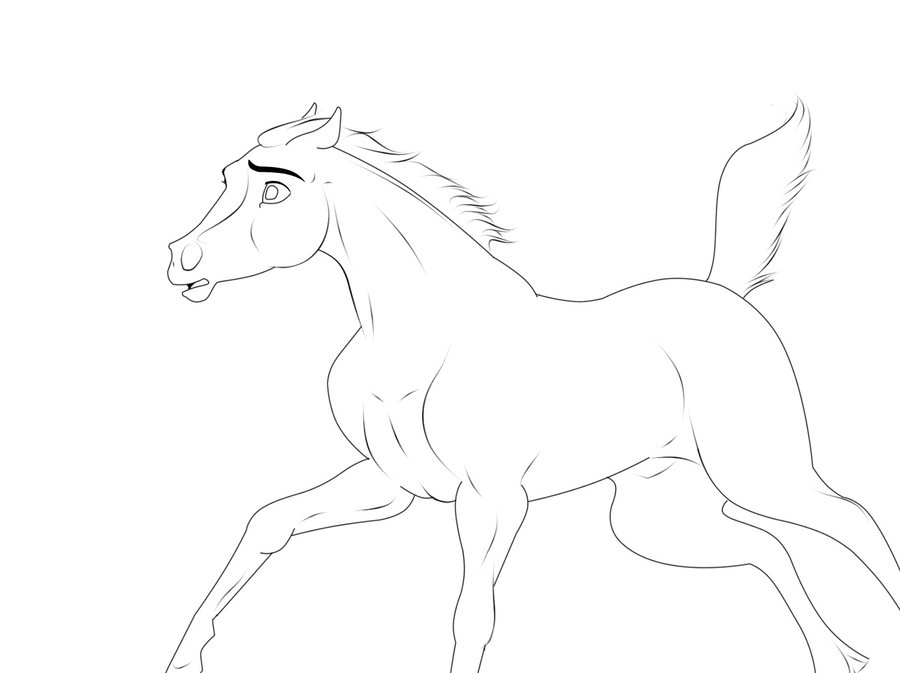 Spirit stallion of the cimarron coloring pages rain - e-pic.info