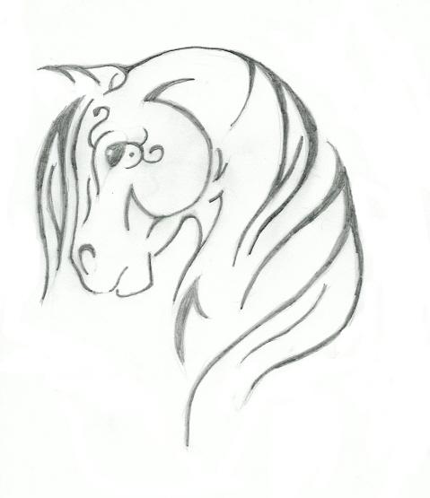tribal horse design by saddlepatch on deviantart. Black Bedroom Furniture Sets. Home Design Ideas
