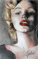 Marilyn Monroe by Goliat74
