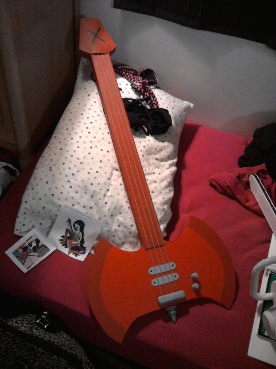 Как сделать гитару марселин своими руками