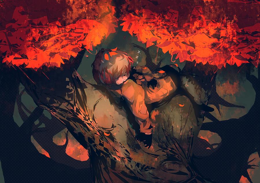 Autumn Slumber by ippotsk