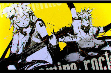 KAGAMINE ROCK 2017 by ippotsk