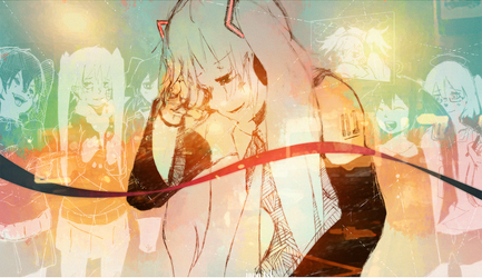 11 years of Miku by ippotsk