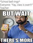 WE'VE STILL GOT THREE SECONDS OF CLASS!