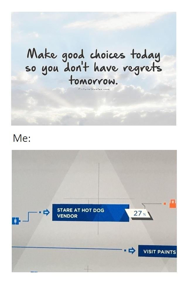 Me Making Good Choices by Sam-Lim