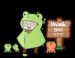 Thank You! (Ribbit!) by Sam-Lim