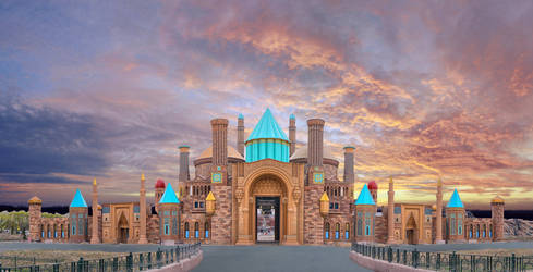 ANKAPARK GATE by omerphotography