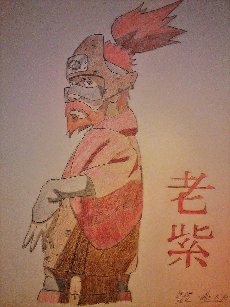 Jinchuuriki 4: Roshi by TheCreator17 on DeviantArt