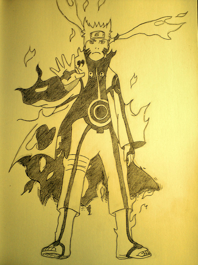Nine Tails Chakra Mode Upgraded!!! by TheCreator17 on ...