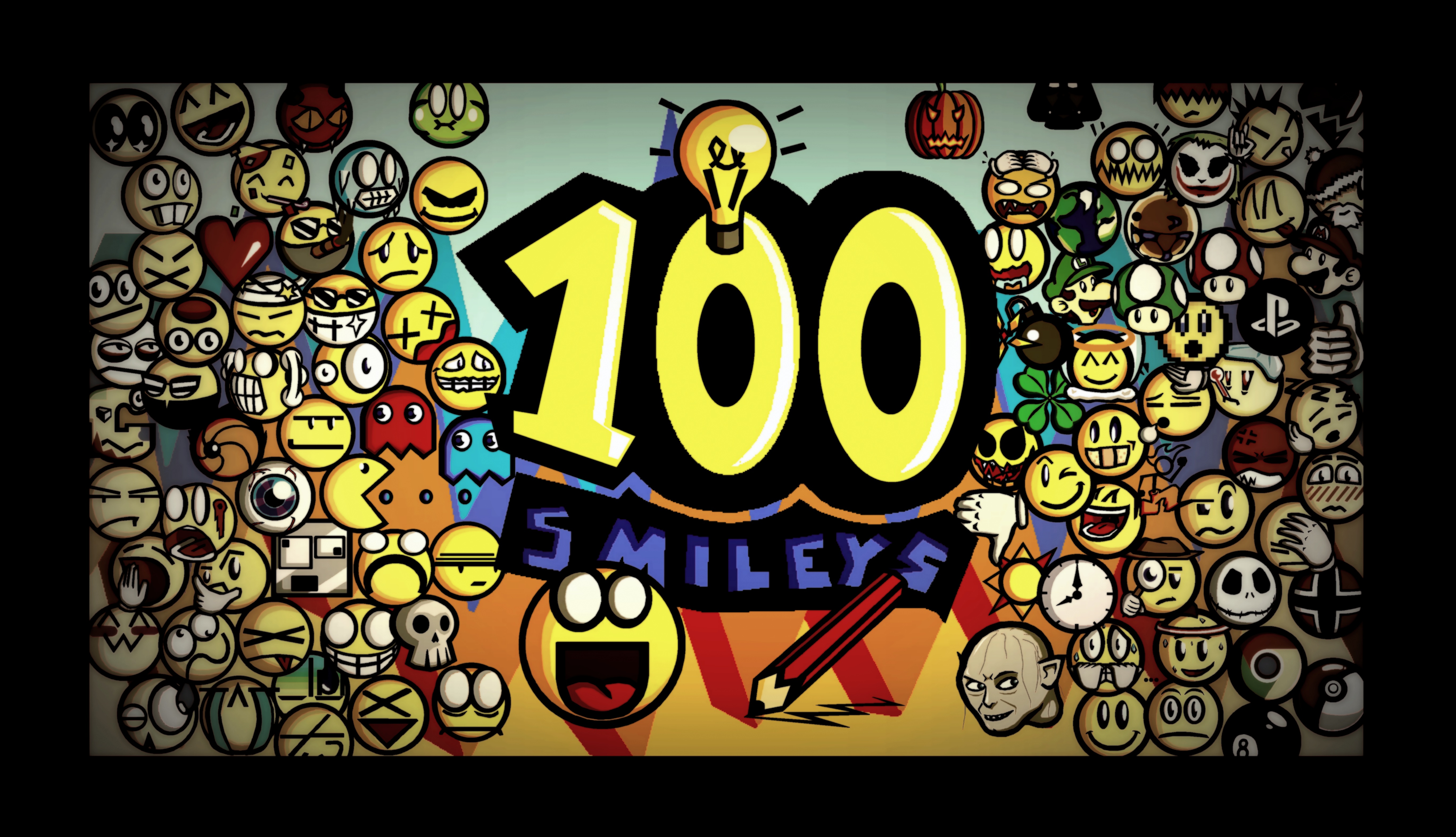 100 Smileys...