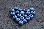 I love blueberries.