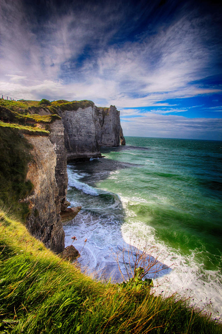 Cliffs. by Blueberryblack