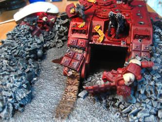 Crashed Land Raider Finished 1 by shortsonfire79