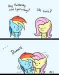 Hugs Can Be Awkward