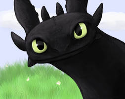 Toothless by RustyBlackbird