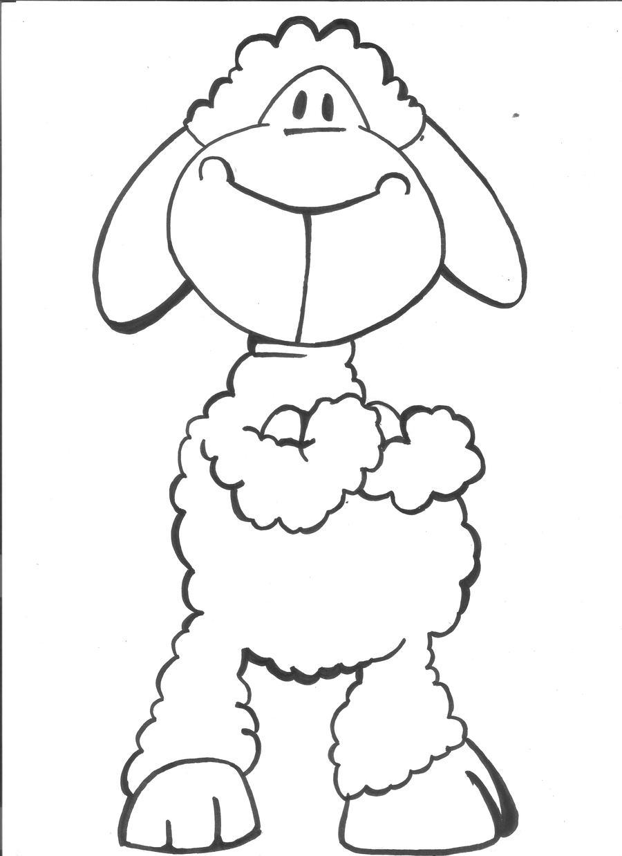דפי צביעה של ניקי ניקי הכבשה ⋆ האתר למורי ישראל