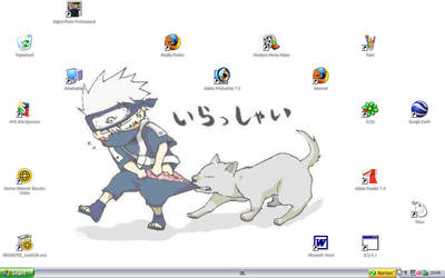my desktop X3 by Kosetsu