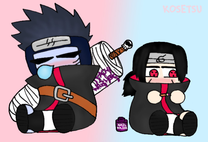 Itachi and Kisame by Kosetsu on DeviantArt