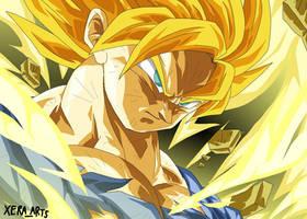 Super Saiyan Son Goku by XeraArts