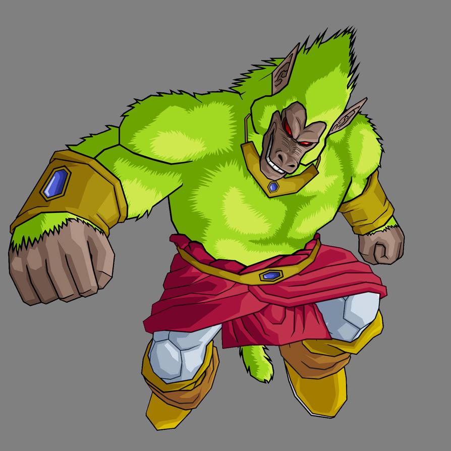 Broly Oozaru Legendary by Gokuten on DeviantArt