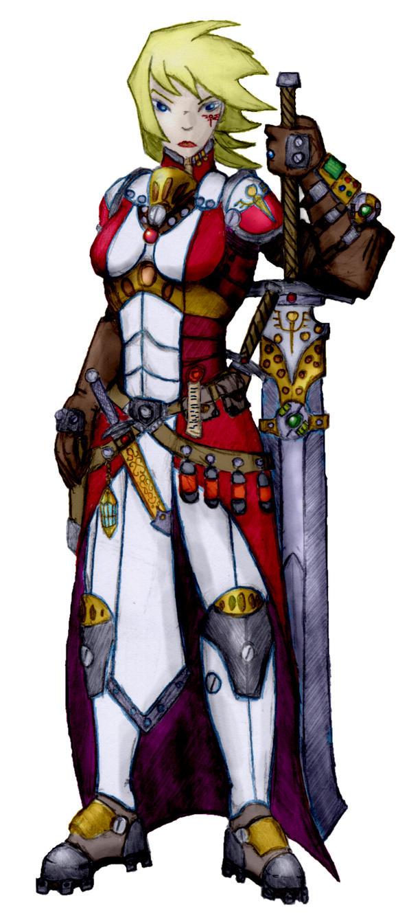 Kyraschwester by LoganGaiaRPG